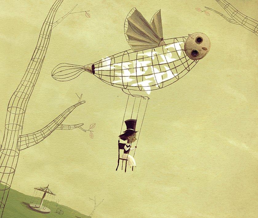 Il·lustració © Riki Blanco
