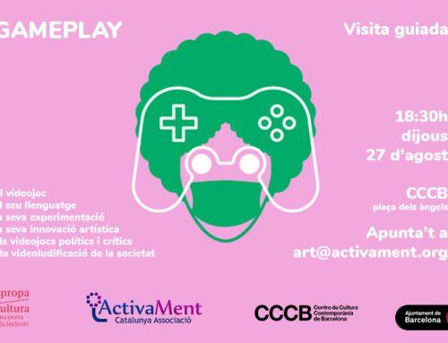 """Sortida Cultural a l'exposició """"Gameplay"""", del CCCB"""