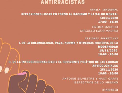 Ciclo de conversatorios «Movimiento loco, interseccionalidad y luchas antiracistas»