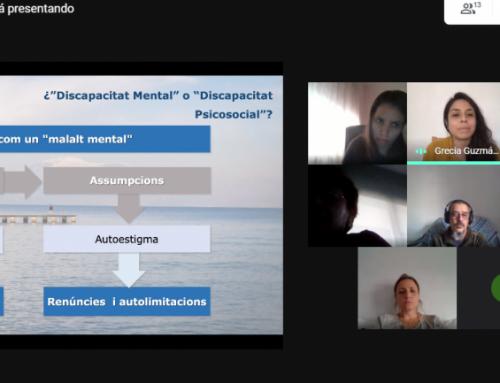 Conclou el projecte de sensibilització a professionals de la Unitat d'Hospitalització Psiquiàtrica de l'HUGTIP