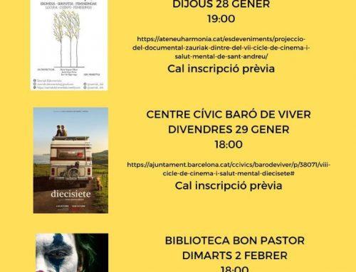 VIII Ciclo de Cine y Salud Mental de Sant Andreu