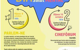 Cartel Hostalric Día Mundial Salud Mental 2020