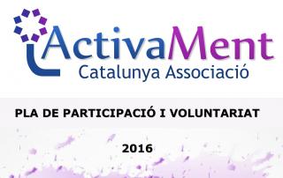 Portada Pla Participació i Voluntariat 2016