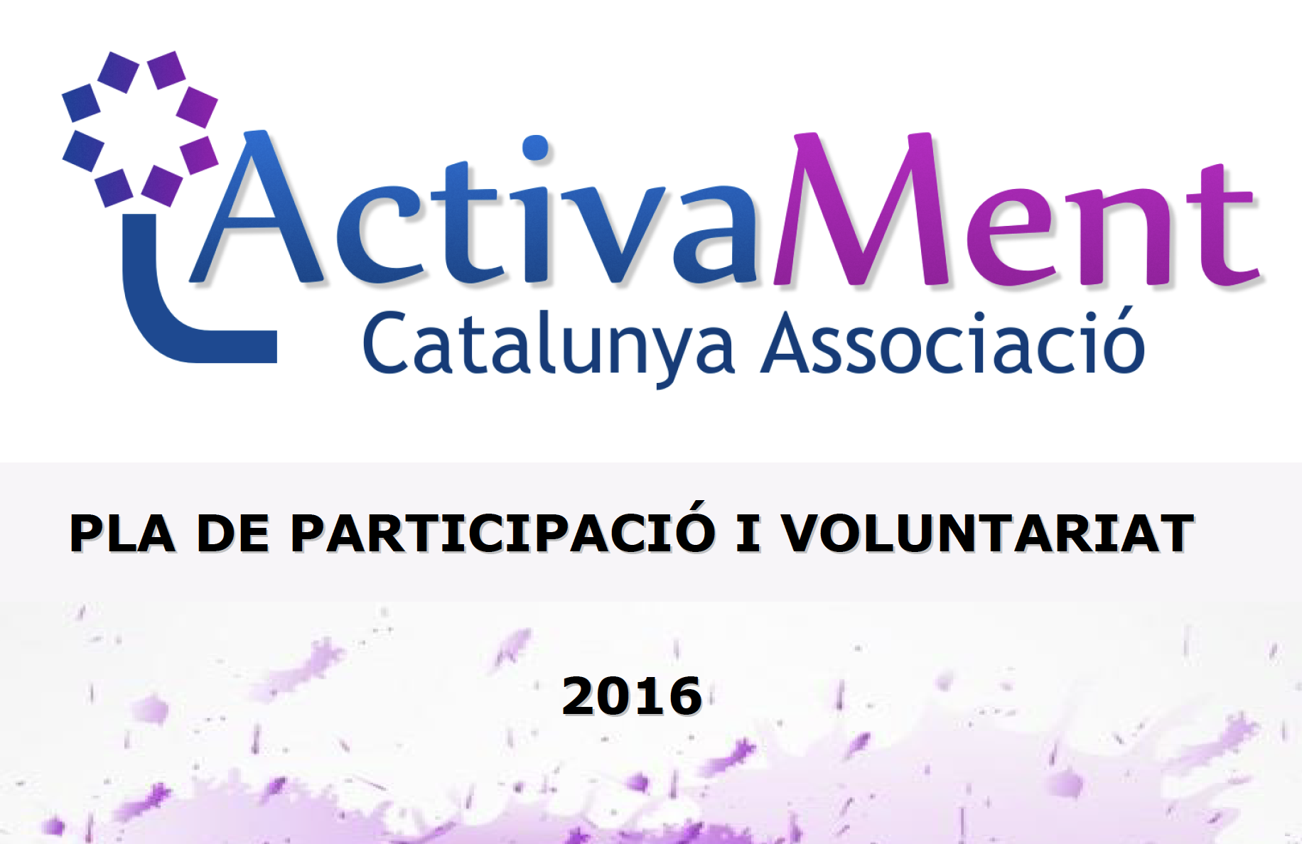 Plan de Participación y Voluntariado 2016