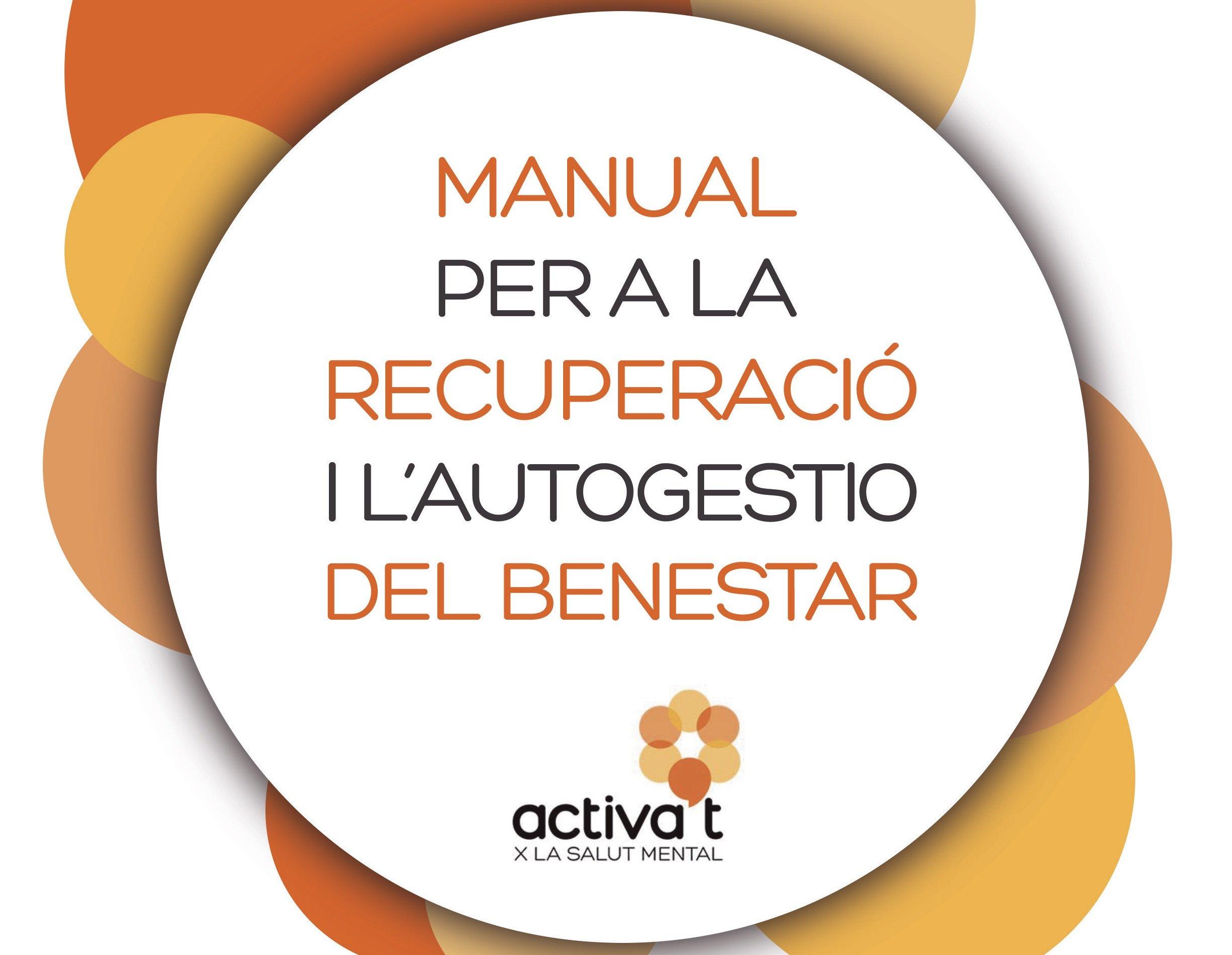 Portada del manual per la recuperació i autogwestió del benestar