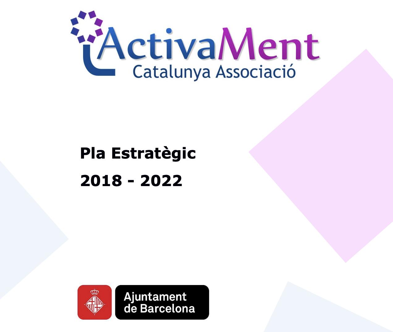 Portada Pla Estratègic 2018-2022