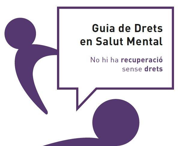 Portada de la Guia de Drets en Salut Mental