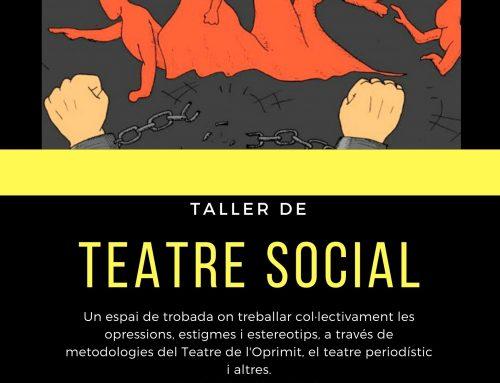 Torna el Taller de Teatre Social