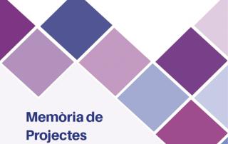 Portada Memòria Projectes 2020